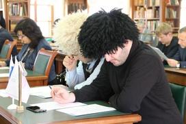 В России написали Большой этнографический диктант