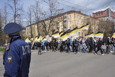 """Русские националисты поучаствуют в оппозиционном марше """"Весна"""""""
