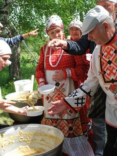 В Ижевске отметили праздник нового урожая