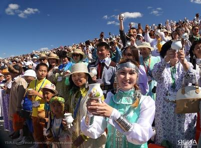 В Якутии установлен мировой рекорд по кумысопитию