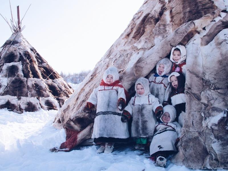 Зима на языках северных народов