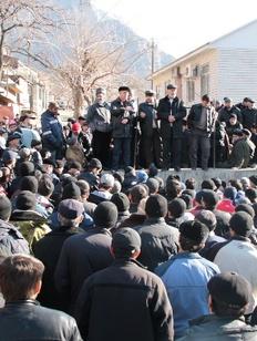 """Организаторы """"Чрезвычайного съезда народов Дагестана"""" собрались митинговать"""