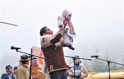 Новый год отметили магаданские эвены