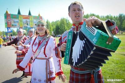В Челябинском Троицке отгуляли Южно-Уральский Сабантуй