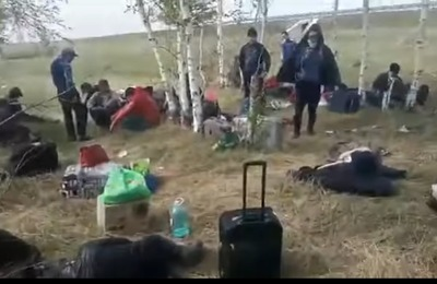В Бузулуке мигранты в ожидании открытия границы живут в поле