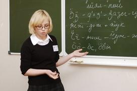 Бречалову предложили сделать обязательным изучение удмуртского языка в школе