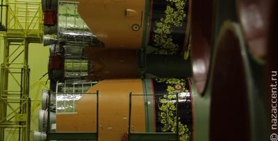 Раскрашенную под хохлому ракету запустят в космос