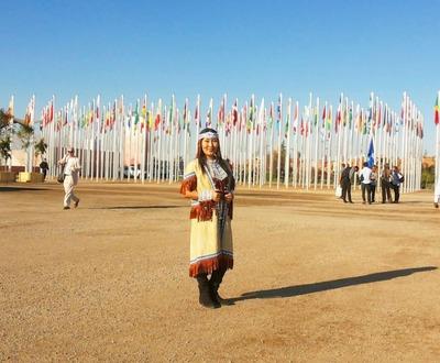 На конференции в ООН выступили с эвенкийским хороводом и якутским пением