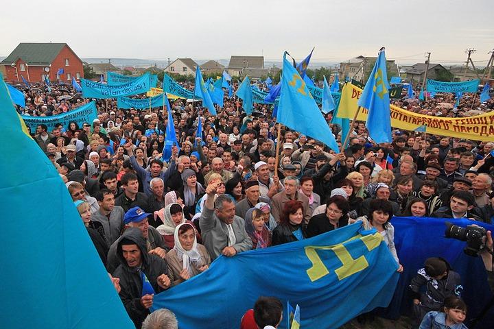 Крымским татарам не разрешили провести митинг памяти жертв сталинизма и нацизма из-за жары