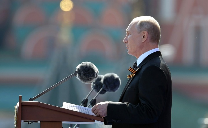Путин на параде в Москве рассказал о вкладе людей разных национальностей в Великую Победу