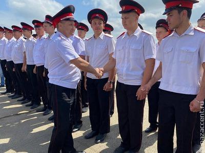 К Кубанскому казачьему войску присоединились более 1200 новобранцев