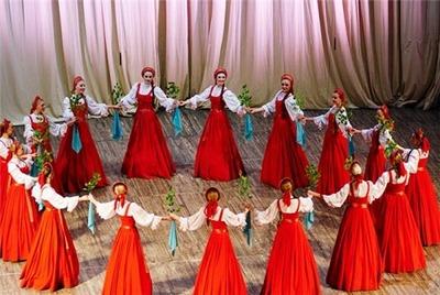 """Во Владимире стартовал фестиваль """"По всей России водят хороводы"""""""