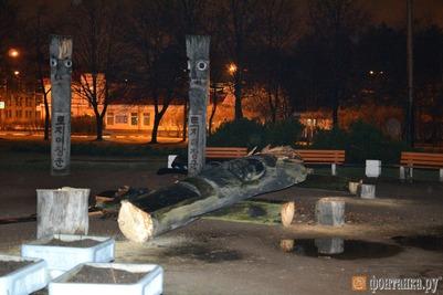 В Санкт-Петербурге спилили корейских идолов Чансын