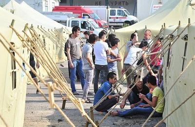 ФМС заявила о ликвидации лагеря для мигрантов в Гольяново