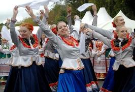 """В Волгограде завершается фестиваль традиционной казачьей культуры """"Станица"""""""