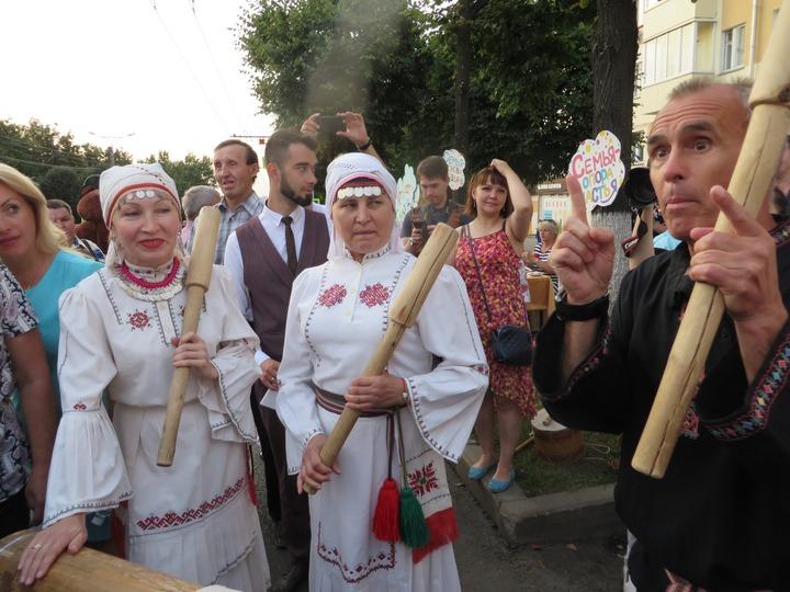 День города Чебоксары в национальных традициях