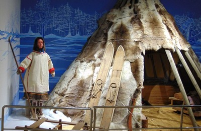 В Омске появился традиционный чум коренных народов Сибири [ФОТО]