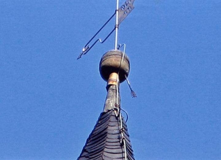 Купол церкви в немецком городе Шварца украсила новая башкирская стрела