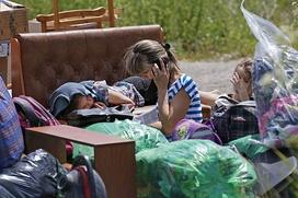В Чечню привезли 140 украинских беженцев