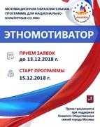 Национально-культурным организациям Москвы повысят мотивацию
