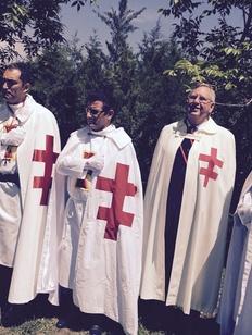 Казаки заподозрили орден тамплиеров в ограблении штаба и проведении ритуала