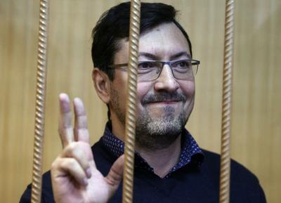 Мосгорсуд оставил националиста Поткина под арестом до следующего года