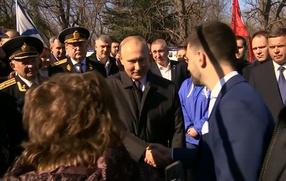 Путин встретился с греческой общиной Крыма