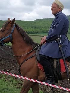 Ставропольские казаки посоревновались в рубке шашкой