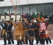 Новый год по лунному календарю встретили в Туве