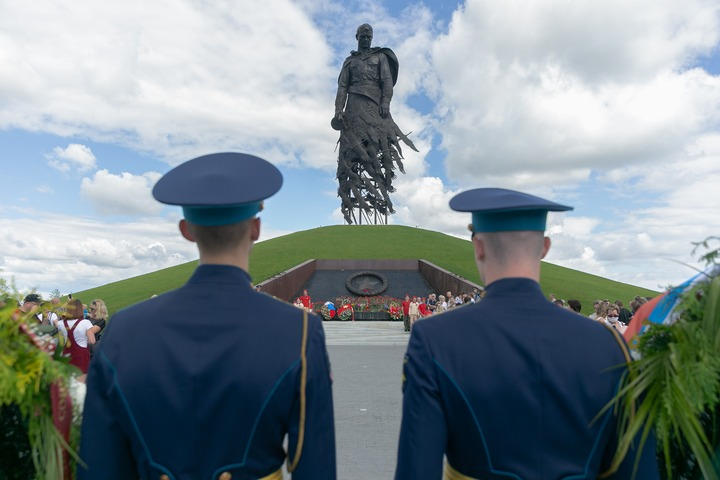 Якутяне почтили память земляков, павших подо Ржевом
