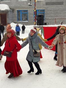 Жители Мурманской области приняли участие в ритуале на Зимних саамских играх