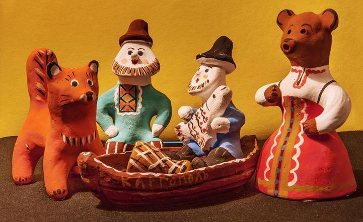 Каргопольская глиняная игрушка стала брендом Архангельской области