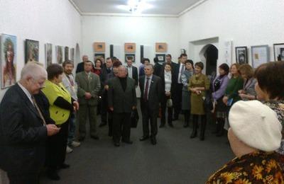 В Уфе открылась выставка этнофутуристов