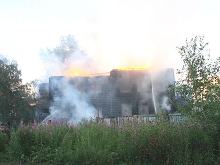 В Архангельске сгорела реставрируемая мечеть 1905 года
