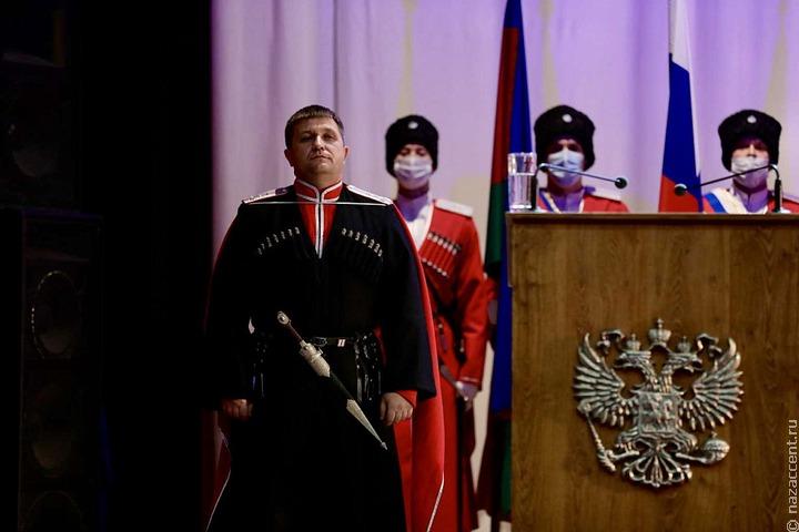 Президент утвердил в должности нового атамана кубанских казаков