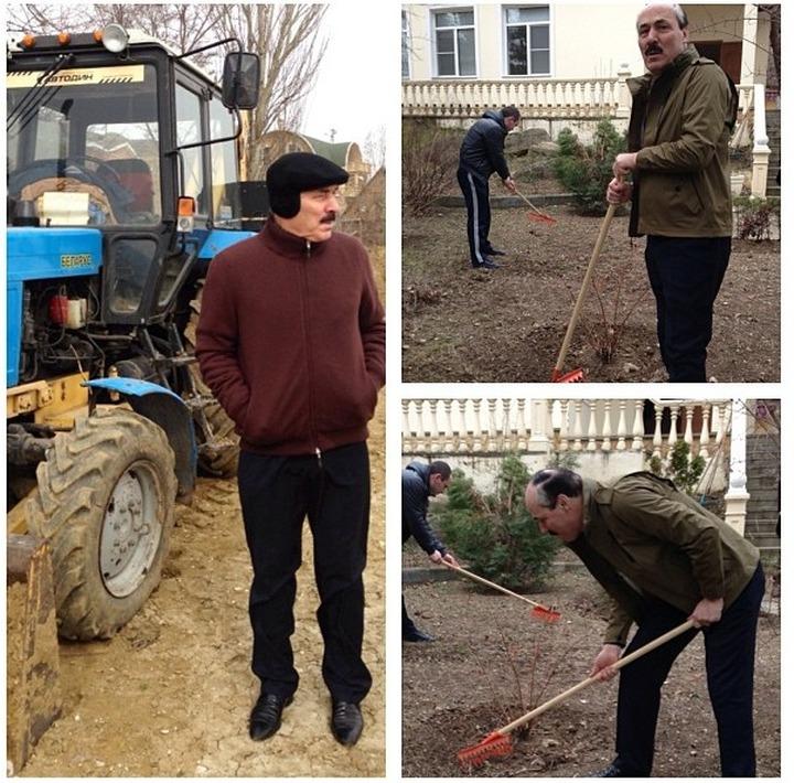 Для упрощения общения с народом Абдулатипов завел аккаунт в Instagram вслед за Кадыровым