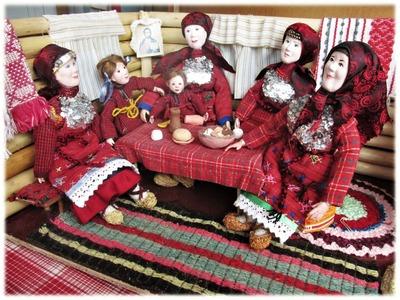 Конкурс кукол в национальных костюмах выиграли удмуртские школьницы
