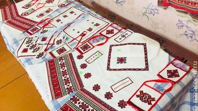 Марийскую вышивку представят в музее прикладного искусства в Йошкар-Оле