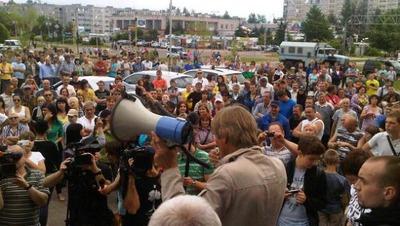 Националисты планируют провести еще один сход в Удомле