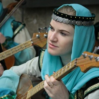 Концерт башкирской этномузыки в московском метро
