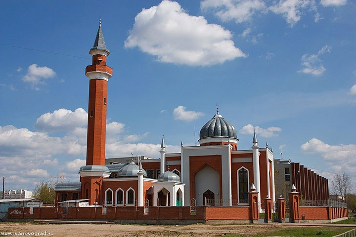 Полиция  Иванова задержала  подростков, разрисовавших мечеть  националистическими символами
