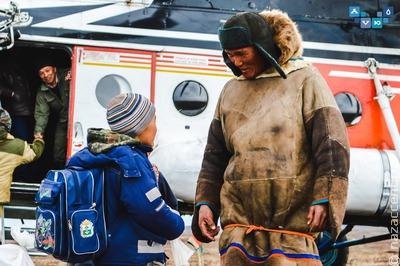 В Нарьян-Маре школьников из числа КМНС отправляют на каникулы домой вертолетом