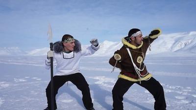 Эгвекитонские музыканты исполнили чукотско-эскимосский рэп (ВИДЕО)