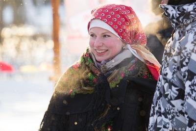В Подольске реконструировали традиционные святочные обряды