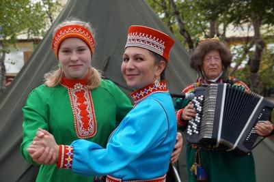 Летние Саамские игры в селе Ловозеро