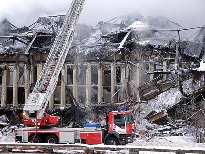Еврейскую общину обеспокоил пожар в библиотеке ИНИОН