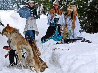 Десять сибирских шаманов попросят духов о здоровье и благополучии России