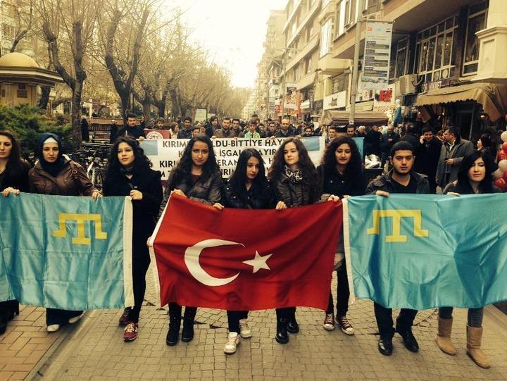 Федерация крымско-татарских обществ Турции поблагодарила Россию за поддержку народа