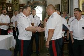 Казакам Всевеликого войска Донского вручили удостоверения