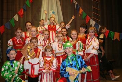 В Вологде завершился детский фольклорный конкурс